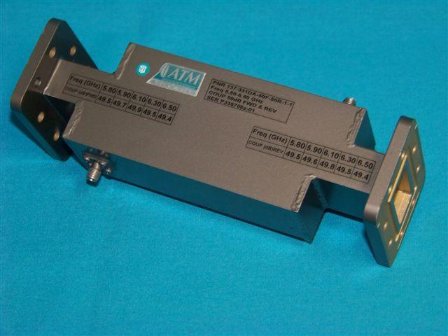 Short Length High Directivity Waveguide Coupler - Dual