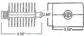 50 Watt Fixed Coax Attenuator - Type N