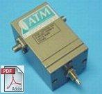 AF04 Series - Low Frequency CVA - Single Turn Model
