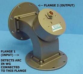 Waveguide Arc Detector